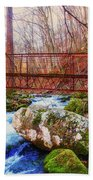 Bridge Over Mill Creek Bath Towel