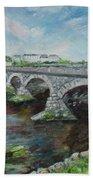 Bridge Over The River Laune, Killorglin Ireland Bath Towel