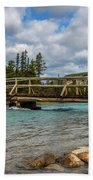 Bridge To The Other Side Bath Towel