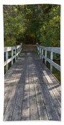 Bridge To Woods 1 Hand Towel