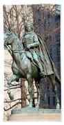 Brigadier General Casimir Pulaski Saved George Washington's Life Bath Towel