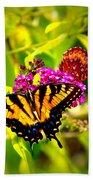 Bright Butterflies Bath Towel