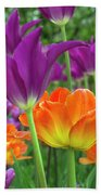 Bright Floral Hand Towel