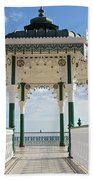 Brighton Seafront Gazebo Bath Towel