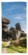 Brimham Rocks Bath Towel