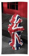 British Fire Hydrant Hand Towel
