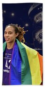 Brittney Griner Lgbt Pride 4 Bath Towel