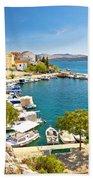 Brodarica Village On Adriatic Sea Bath Towel