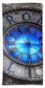 Bromo Seltzer Tower Clock Face #4 Hand Towel by Marianna Mills
