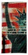 Bronx Graffiti - 4 Bath Towel