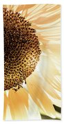 Bronze Sunflower Hand Towel