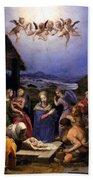 Bronzino Agnolo Painting Bath Towel