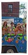 Brooklyn Mermaids Bath Towel
