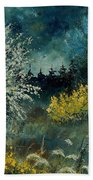 Brooms Shrubs Bath Towel