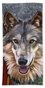 Brother Wolf Bath Towel