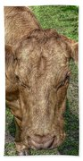 Brown Cow Hand Towel
