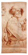 Bruegel: Painter, 1565 Bath Towel