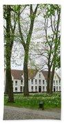 Bruges Begijnhof 1 Bath Towel