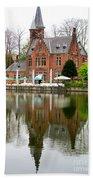 Bruges Kasteel Minnewater Bath Towel