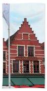 Bruges Markt 6 Bath Towel