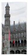 Bruges Markt 9 Bath Towel