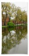 Bruges Minnewater 1 Bath Towel