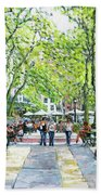 Bryant Park Nyc Hand Towel