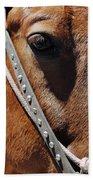 Bryce Canyon Horse Portrait Bath Towel