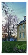Buckman Tavern At Sunset Bath Towel