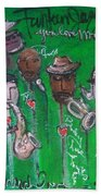 Buckner Funken Jazz Bath Towel