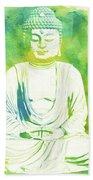 Buddha By Raphael Terra Bath Towel
