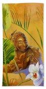 Buddha Sculp Bath Towel