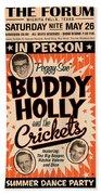Buddy Holly Bath Towel