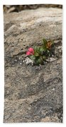 Buds Of Beauty Within Harshness Bath Towel