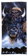 Buffalo Medicine Bath Towel