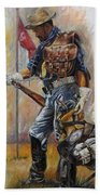 Buffalo Soldier Outfitted Bath Towel
