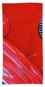 Buick Lasalle Portholes And Fender #3 Bath Towel