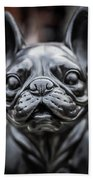 Bulldog Bath Towel