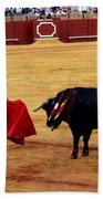 Bullfighting 22 Bath Towel