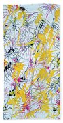 Bumble Bees Against The Windshield - V1vc100 Bath Towel