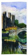 Bunratty Castle Bath Towel