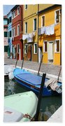 Burano Corner With Laundry Bath Towel