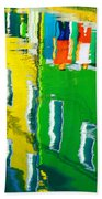 Burano Reflections Bath Towel