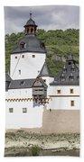 Burg Pfalzgrafenstein In Kaub Germany Bath Towel