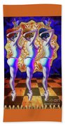 Burlesque Dancers Act One Bath Towel