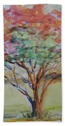 Burning Bush Hand Towel