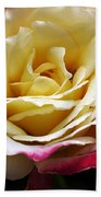 Burst Of Rose Bath Towel