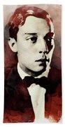 Buster Keaton, Legend Bath Towel