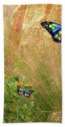 Buterflies Dream Bath Towel
