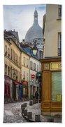 Butte De Montmartre Bath Towel